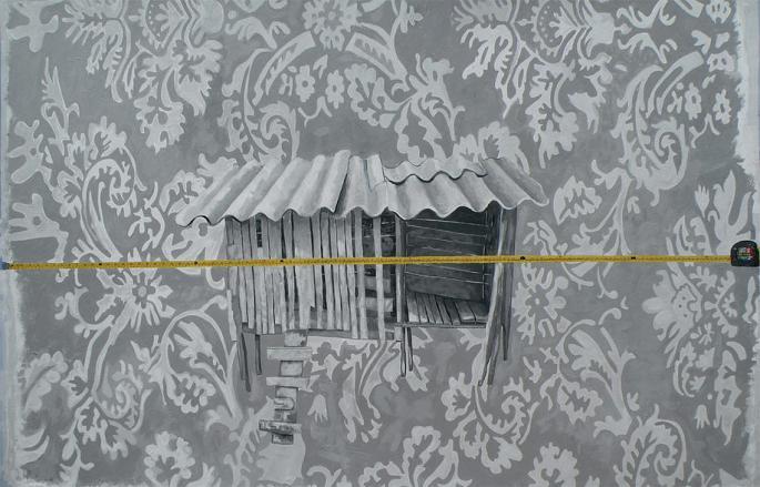 Territorios y propiedades, Video Acción, 2.50cmx170, 2009