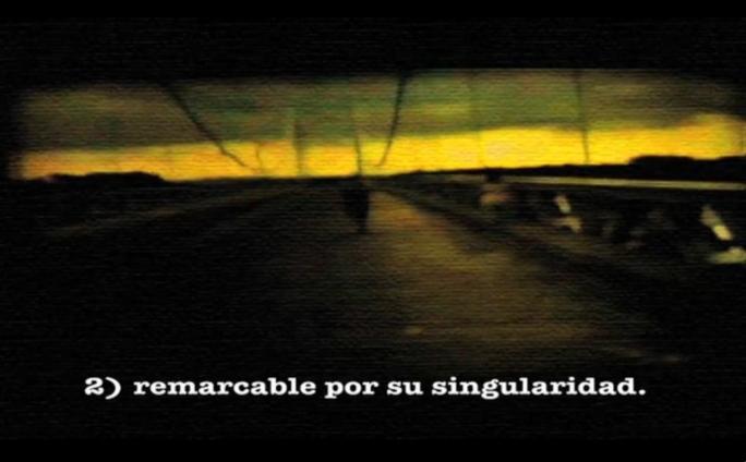 Escapade, Video 4´45´´, 2009