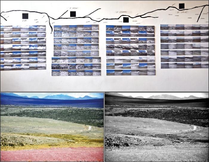 TÍTULO: Llévame TÉCNICA: Instalación archivo fotográfico AÑO: 2011