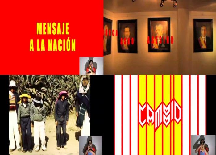 """Mensaje a la Nación Video 3´46"""" 2010"""