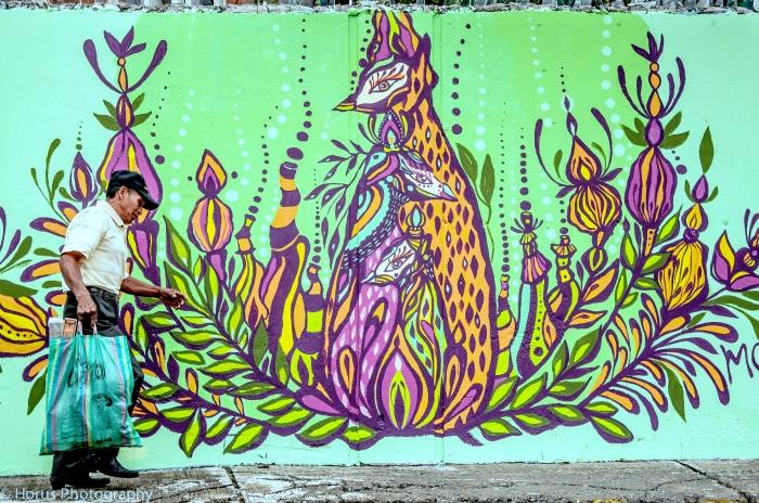 KHILAHALO, vinil sobre pared, 2014