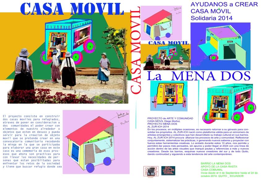 Proyecto comunitario casa movil encuentro al zuirh 2014