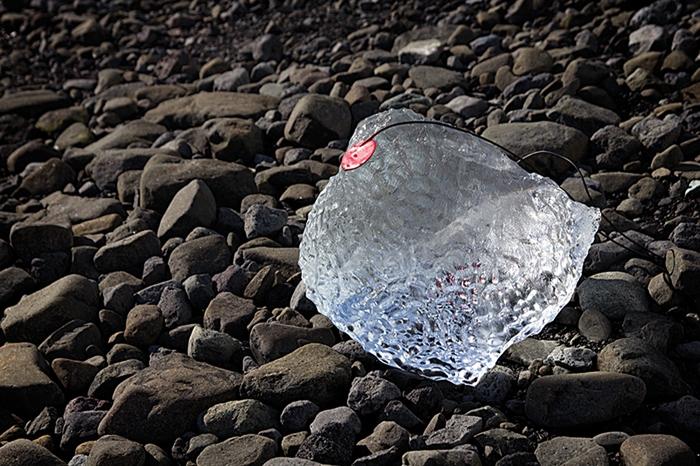 Título: Audiopoiesis Técnica: grabación de glaciares y volúmenes de hielo en la Antártida Año: 2012 - Fotografía, video y archivos sonoros